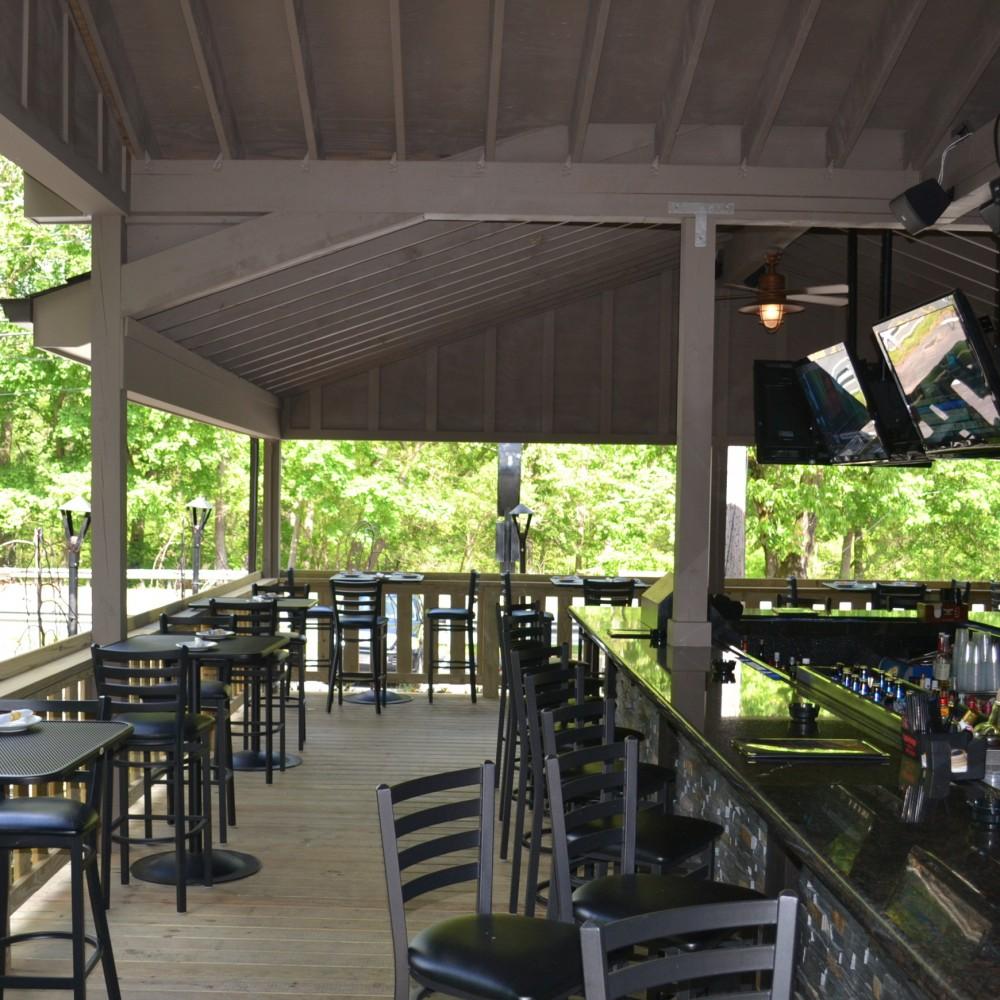 Restaurant expansion (deck & bar)