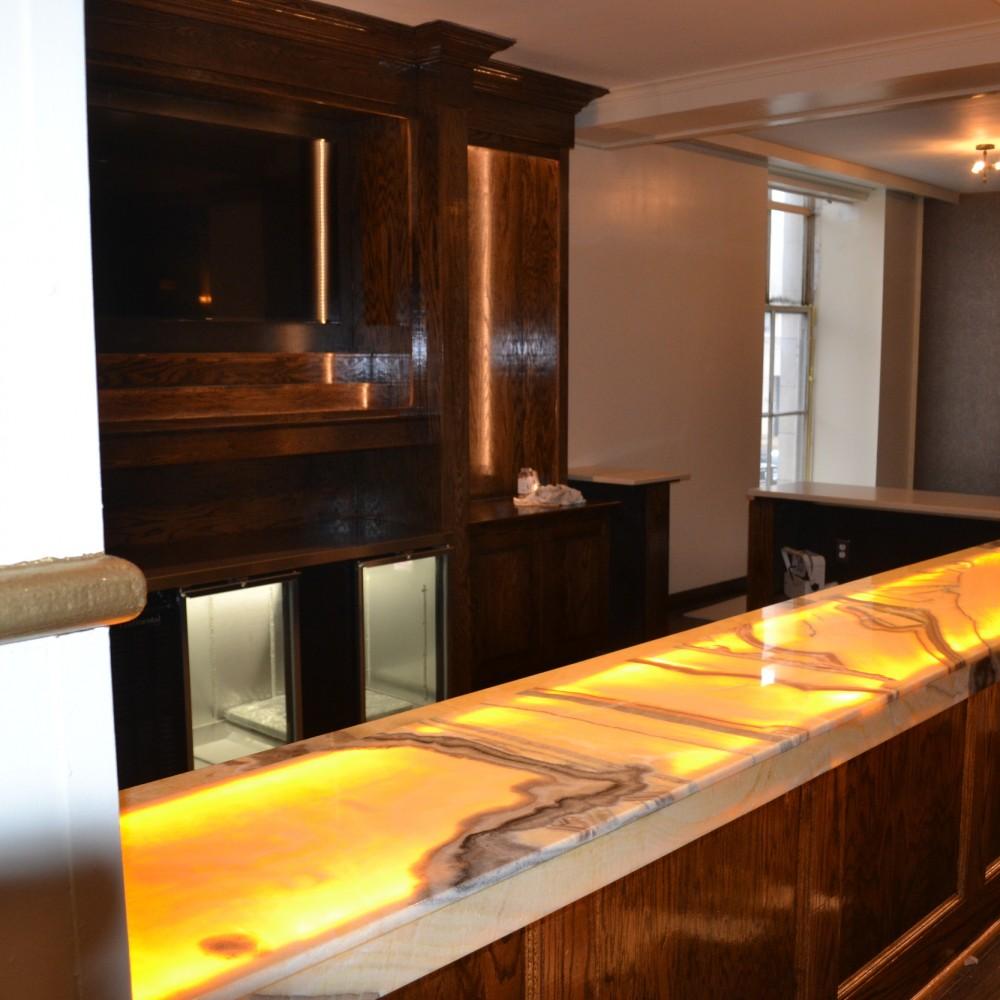 Ballroom (custom bars & buffets)